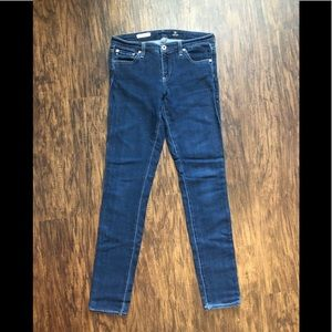 AG mid rise skinny jean